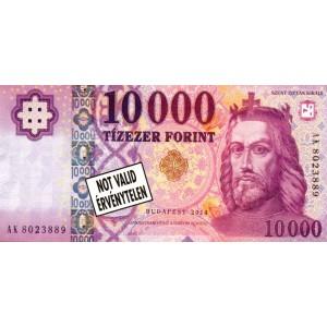 10000 forintos jegyzettömb
