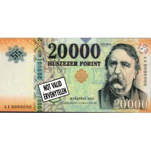 20000.- forintos jegyzettömb