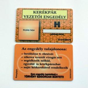 Kerékpár vezetői engedély